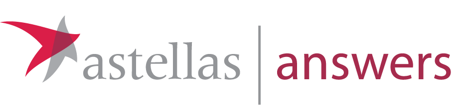 Astellas answers logo